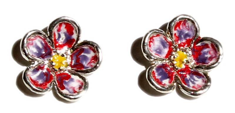 orecchini-non-ti-scordar-di-me-multicolor-rosso-viola-bianco