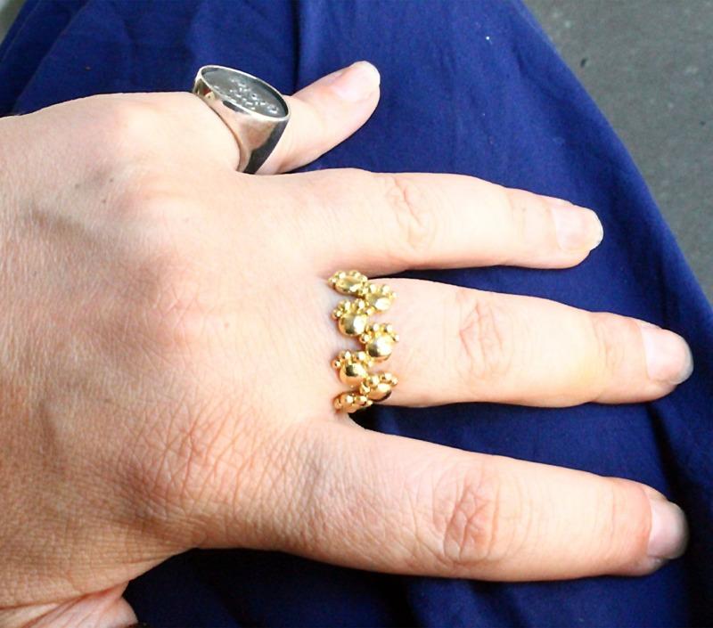 anello-zampette-oro-giallo