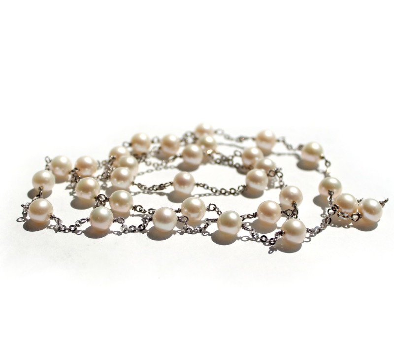 collana-perle-e-oro-bianco